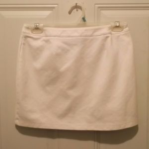 """Express"" white mini skirt * like new"
